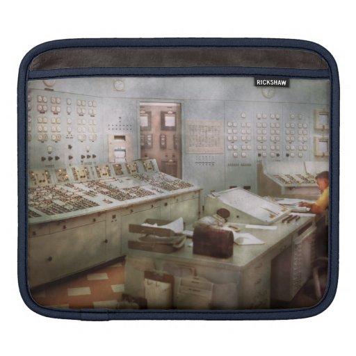 Steampunk - Retro - The power station iPad Sleeves