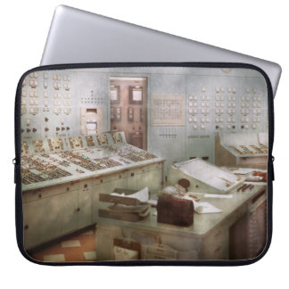Steampunk - Retro - The power station Laptop Sleeves