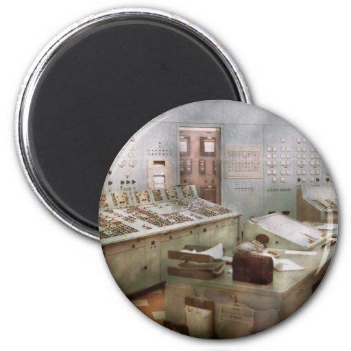 Steampunk - Retro - The power station Fridge Magnet