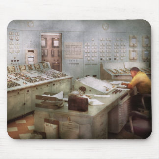 Steampunk - Retro - The power station Mouse Pad