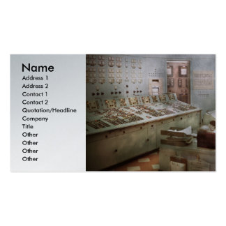 Steampunk - Retro - The power station Pack Of Standard Business Cards