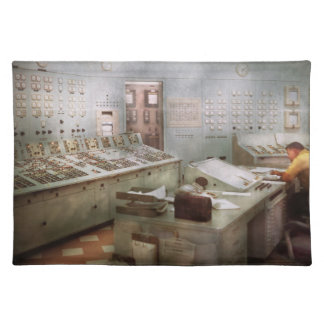 Steampunk - Retro - The power station Place Mat