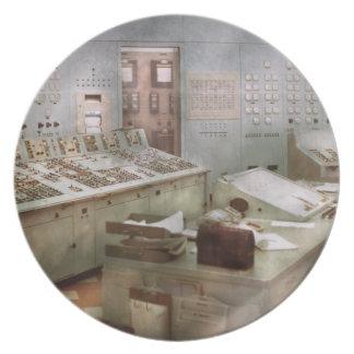 Steampunk - Retro - The power station Plates