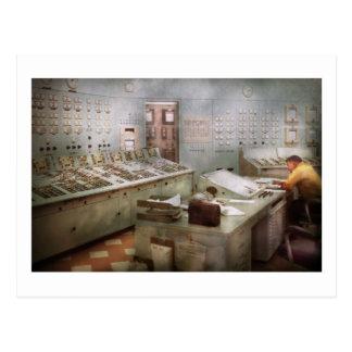 Steampunk - Retro - The power station Postcard