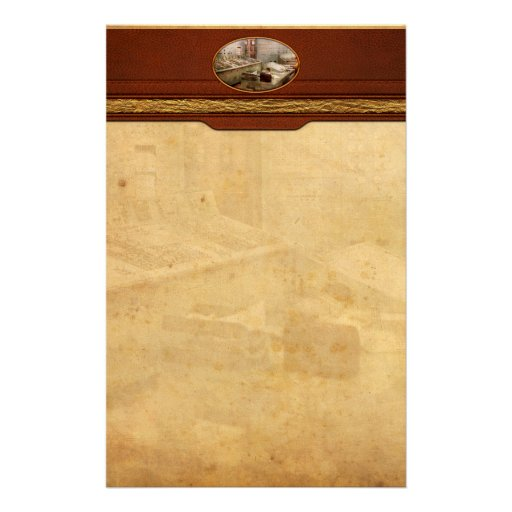 Steampunk - Retro - The power station Stationery Paper