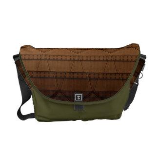 Steampunk Rickshaw Messenger Bag