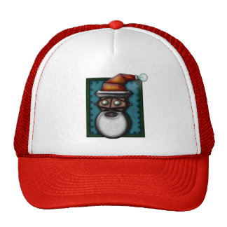 Steampunk Robo-Santa, hat