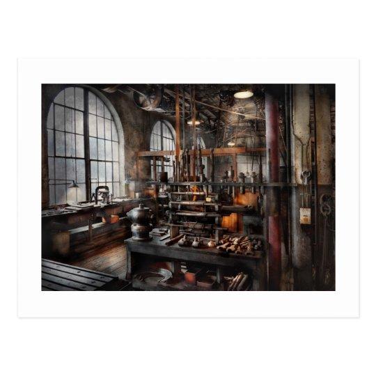 Steampunk - Room - Steampunk Studio Postcard