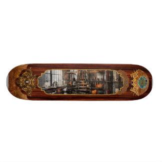 Steampunk - Room - Steampunk Studio Custom Skateboard