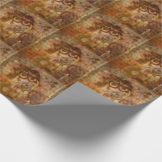 Steampunk Rose #2 Wrapping Paper