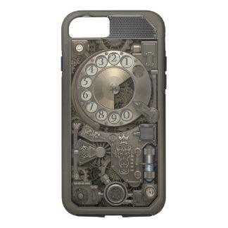Steampunk Rotary Metal Dial Phone. Case. iPhone 7 Case