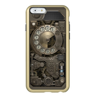 Steampunk Rotary Metal Dial Phone. Incipio Feather® Shine iPhone 6 Case
