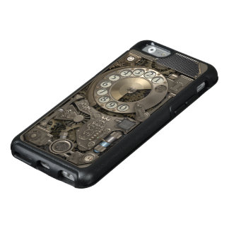 Steampunk Rotary Metal Dial Phone. OtterBox iPhone 6/6s Case