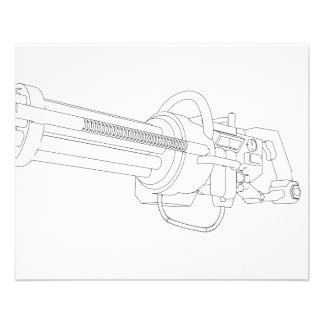 Steampunk Rotation Gun Flyers