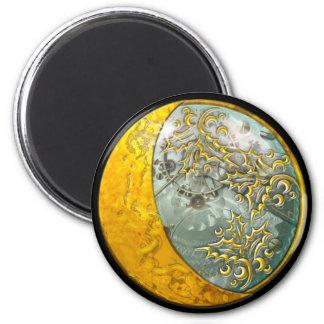 Steampunk - Round Magnet