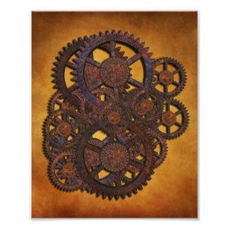 Steampunk Rusty Gears Photo