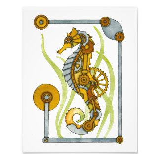 Steampunk Seahorse Photo