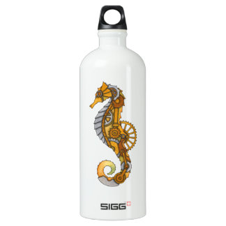 Steampunk Seahorse SIGG Traveller 1.0L Water Bottle