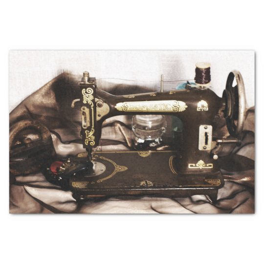 Steampunk Sewing Tissue Paper
