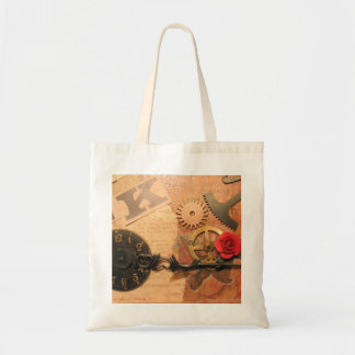 Steampunk Shopper Tote Bag
