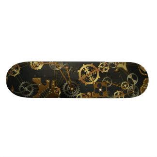 Steampunk skateboard