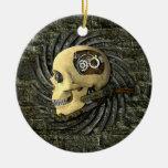 Steampunk Skull Ornaments