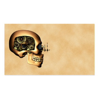 Steampunk Skull Pack Of Standard Business Cards