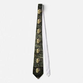 Steampunk Skull Tie