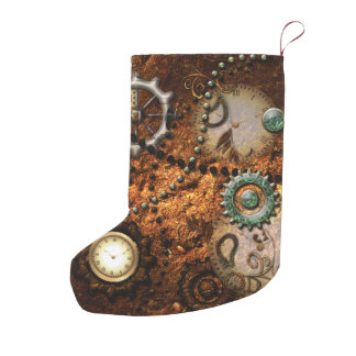 Steampunk Small Christmas Stocking