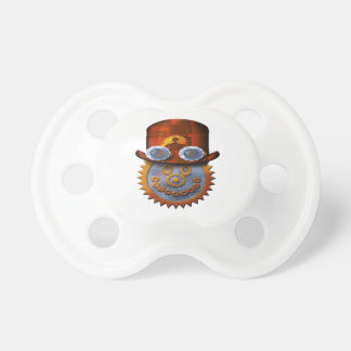 steampunk smiley pacifier