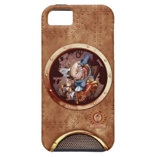 Steampunk Space Chimp iPhone 5 iPhone 5 Cases
