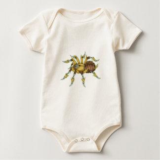 steampunk spider baby bodysuit