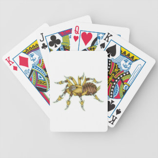 steampunk spider bicycle playing cards