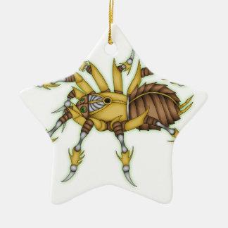 steampunk spider christmas ornament