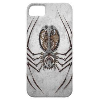 Steampunk Spider on Rough Steel iPhone 5 Case