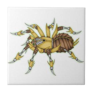 steampunk spider tile