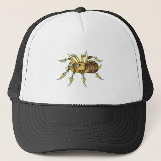 steampunk spider trucker hat