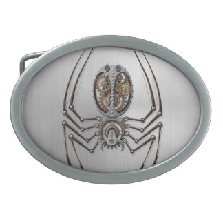 Steampunk Spider with Stainless Steel Effect Belt Buckle