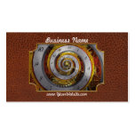 Steampunk - Spiral - Infinite time Pack Of Standard Business Cards
