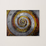 Steampunk - Spiral - Infinite time Puzzle