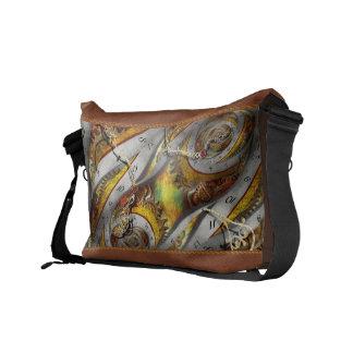 Steampunk - Spiral - Space time continuum Commuter Bag