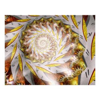 Steampunk - Spiral - Time Iris Custom Flyer