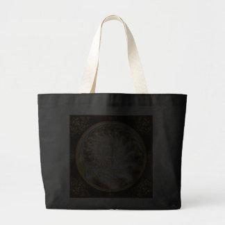 Steampunk - Spiral - Time Iris Jumbo Tote Bag