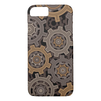 Steampunk Style Industrial Gears iPhone 7 Case