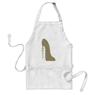 Steampunk Style Stiletto Shoe Art Standard Apron