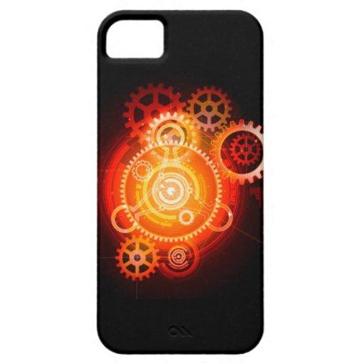 Steampunk Sunrise iPhone 5/5S Case