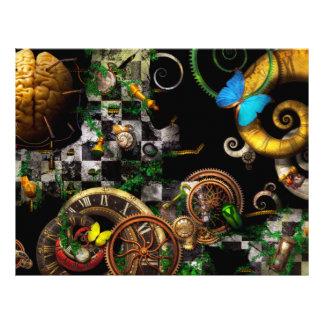 Steampunk - Surreal - Mind games 21.5 Cm X 28 Cm Flyer