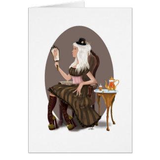 Steampunk Tea Card