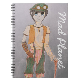 Steampunk Teen Spiral Note Book
