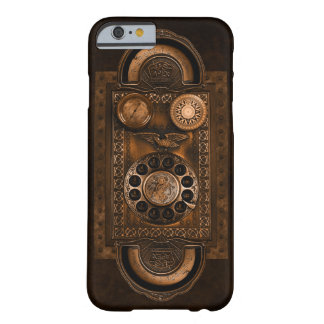 Steampunk Telephone Dial, Vintage Style, Brown Barely There iPhone 6 Case